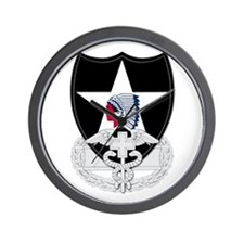 2nd Infantry CFMB Wall Clock