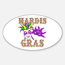 Mardis Gras Decal