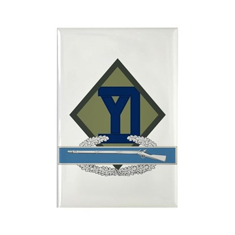 26th Infantry CIB Rectangle Magnet