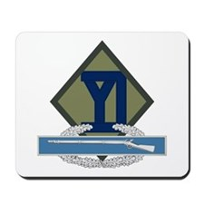 26th Infantry CIB Mousepad