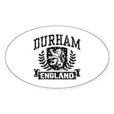 Durham England Decal