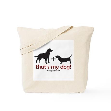 Lab/Basset Tote Bag