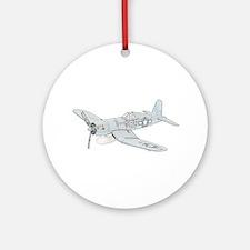 Vought F4U Corsair Ornament (Round)