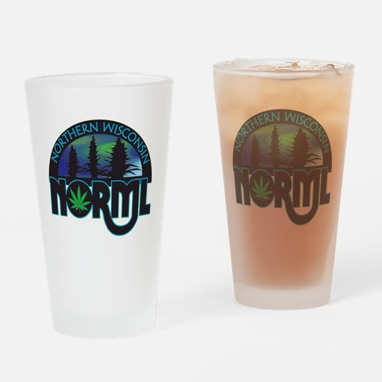 Unique Norml Drinking Glass
