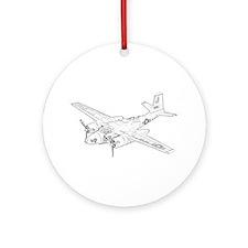 Douglas A-26 Invader Ornament (Round)