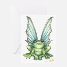 Fairy Frog Greeting Card