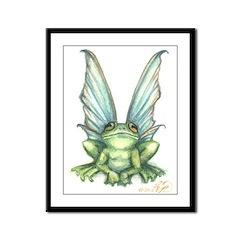 Fairy Frog Framed Panel Print