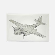 Douglas A-26 Invader Rectangle Magnet