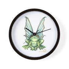 Fairy Frog Wall Clock