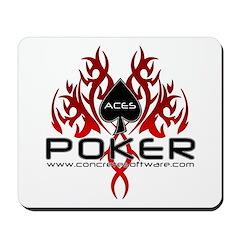 Aces Poker Mousepad