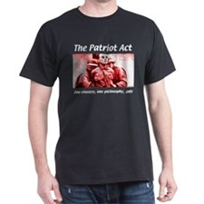 Patriot Act Black T-Shirt