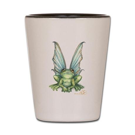 Fairy Frog Shot Glass
