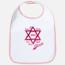 Bat Mitzvah Girl Bib