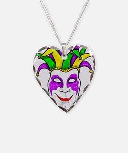 Mardis Gras Mask Necklace