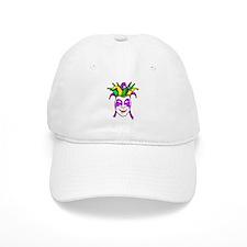 Mardis Gras Mask Baseball Cap