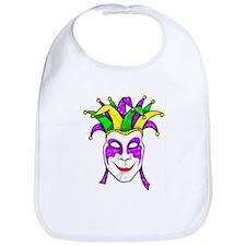 Mardis Gras Mask Bib