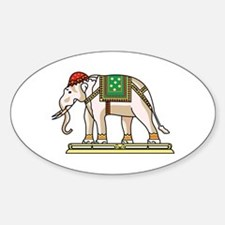 Siam Elephant Flag Decal