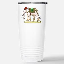 Siam Elephant Flag Stainless Steel Travel Mug