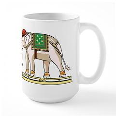 Siam Elephant Flag Mug