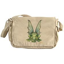 Fairy Frog Messenger Bag