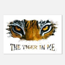 the tiger in me Postcards (Package of 8)