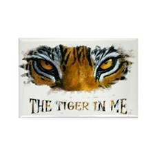 the tiger in me Rectangle Magnet