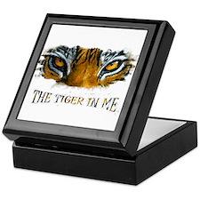 the tiger in me Keepsake Box