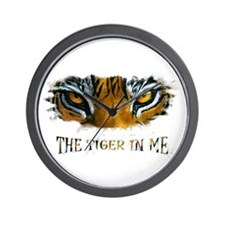 the tiger in me Wall Clock