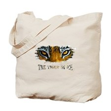 the tiger in me Tote Bag
