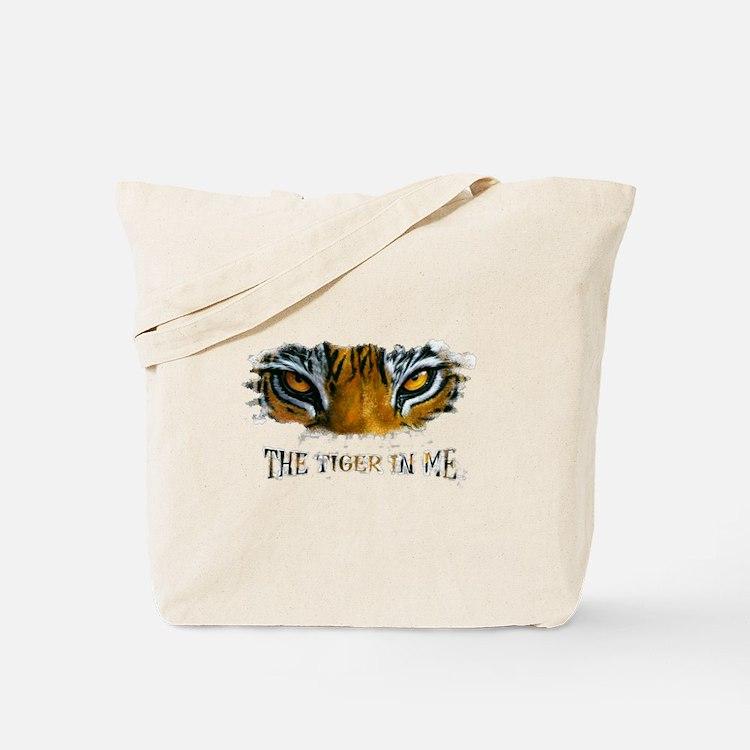 the tiger in me Tote Bag