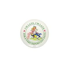 I'm Late, I'm Late! Mini Button (100 pack)