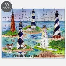 NC Light Houses Puzzle