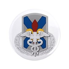 """256th Infantry BCT CFMB 3.5"""" Button"""