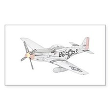 North American P-51 Mustang Decal