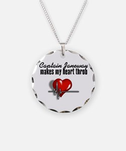 Captain Janeway makes my heart throb Necklace