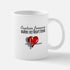 Captain Janeway makes my heart throb Mug