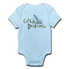 Captain Destructo Infant Bodysuit