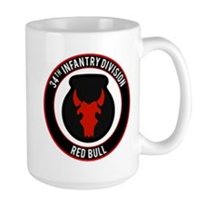 """34th Infantry """"Red Bull"""" Mug"""