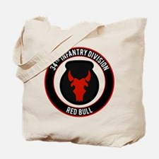 """34th Infantry """"Red Bull"""" Tote Bag"""
