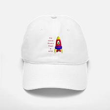 The Scarier Than a UFO Baseball Baseball Cap