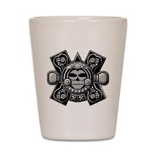 Mayan Crossbones Shot Glass