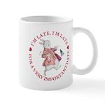 I'm Late, I'm Late! Mug