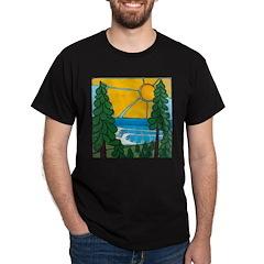 Pine Trees and Sun T-Shirt