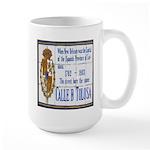 Cajun French Who Dat Large Mug