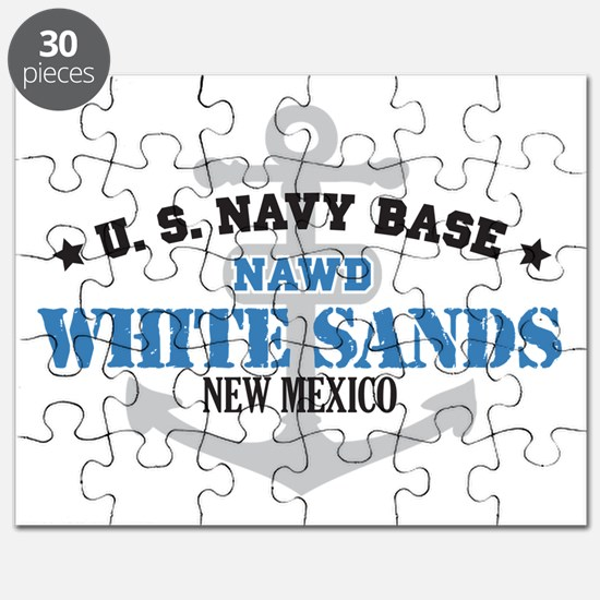 US Navy White Sands Base Puzzle