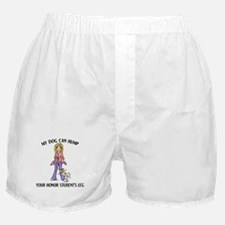 Whippet Honor Student Boxer Shorts