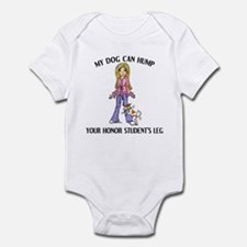 Whippet Honor Student Infant Bodysuit