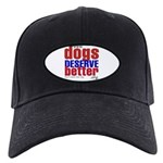 Patriotic Website Graphic Black Cap