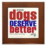 Patriotic Website Graphic Framed Tile