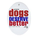 Patriotic Website Graphic Oval Ornament